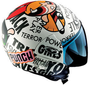Powerpuff Girls Helmet