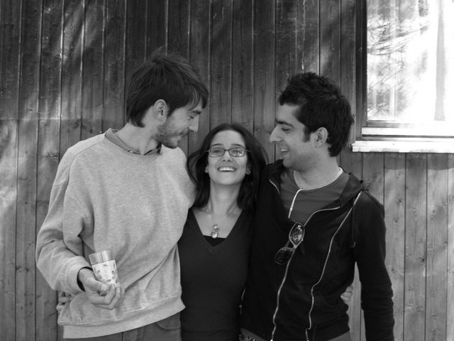 Zhirayr, Maneh and me in Sevan!