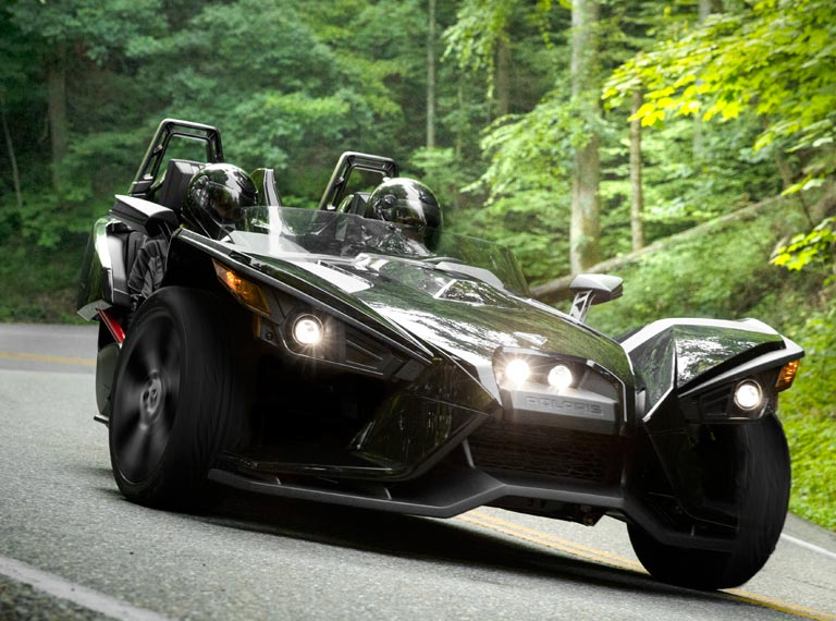 Polaris Slingshot. I know, right?